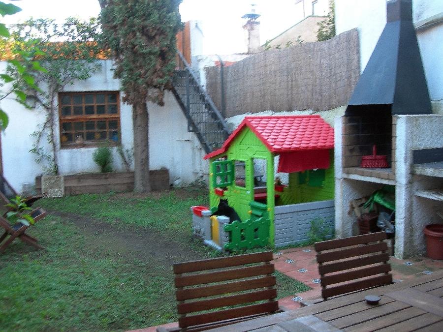 Jardín antes