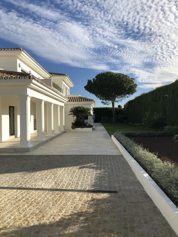 Jardín de entrada - Perspectiva