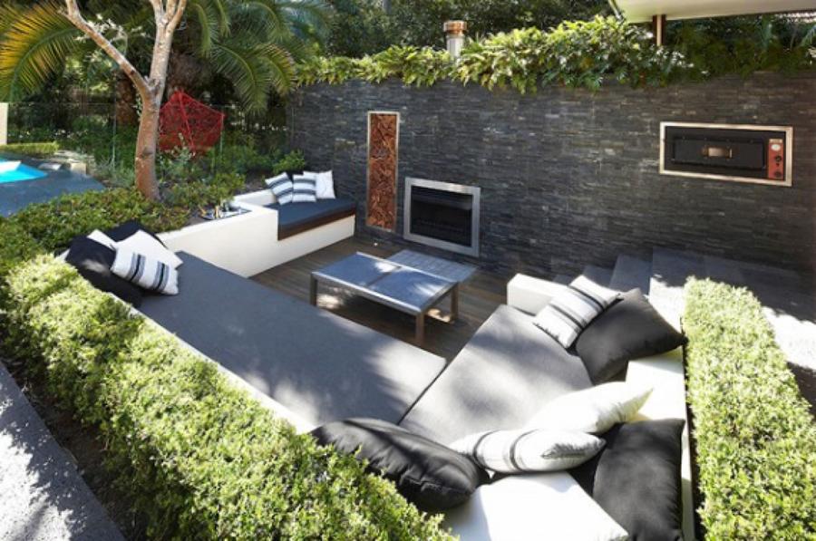 Jardin estilo Hollywood
