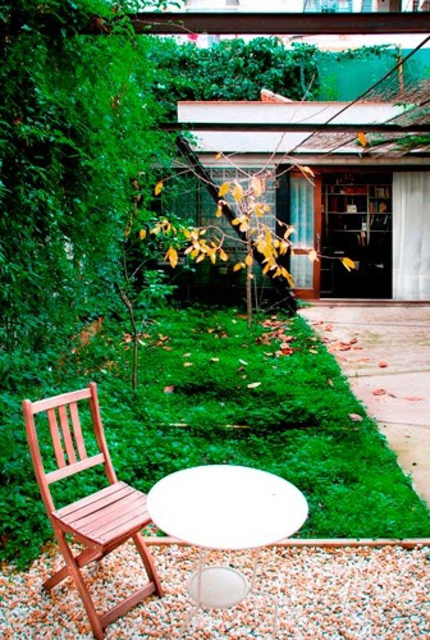 Jardín interior