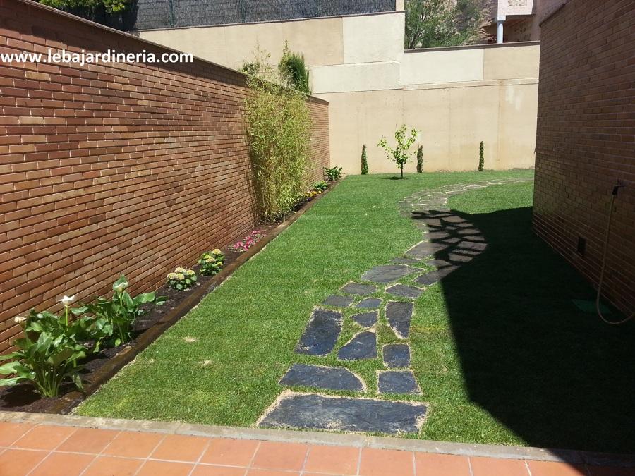 Jardín particular en Toledo