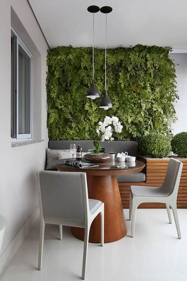 Jardines verticales: tendencia vegetal en decoración de interiores