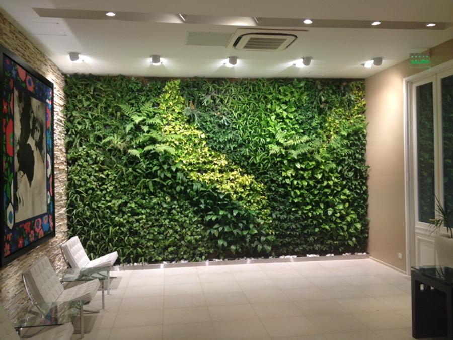 C mo mantener un jard n vertical ideas reformas viviendas for Jardin vertical oficina