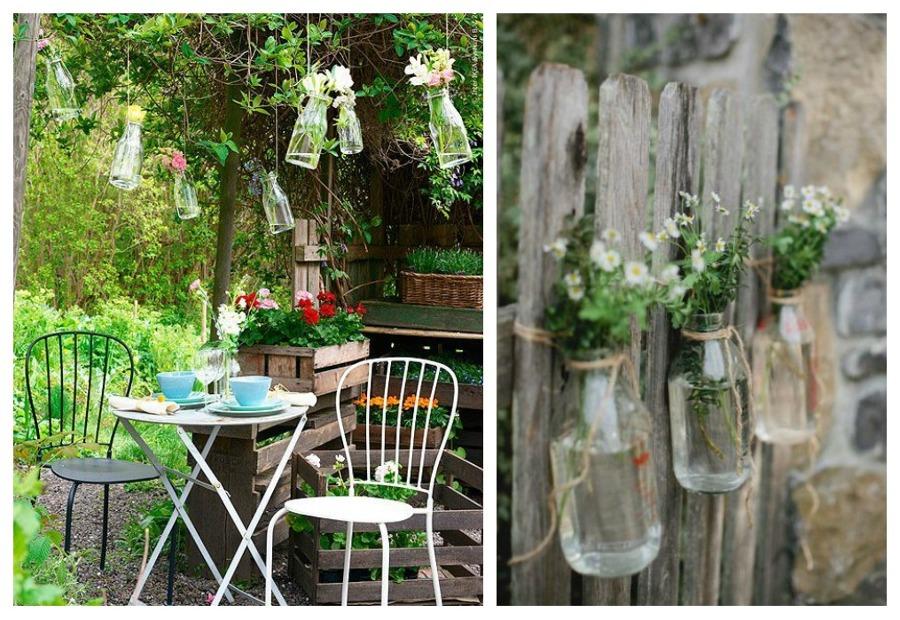 Decora tu jard n con ideas low cost ideas decoradores for Decoracion vallas jardin