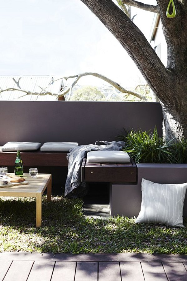Crea rincones de obra para decorar tu exterior ideas - Jardineras de obra exterior ...