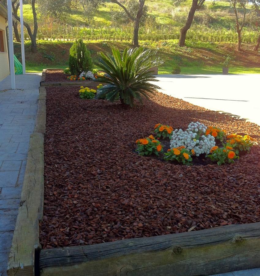 Decoraci n de jardineras en el frontal del restaurante - Tipos de jardineras ...