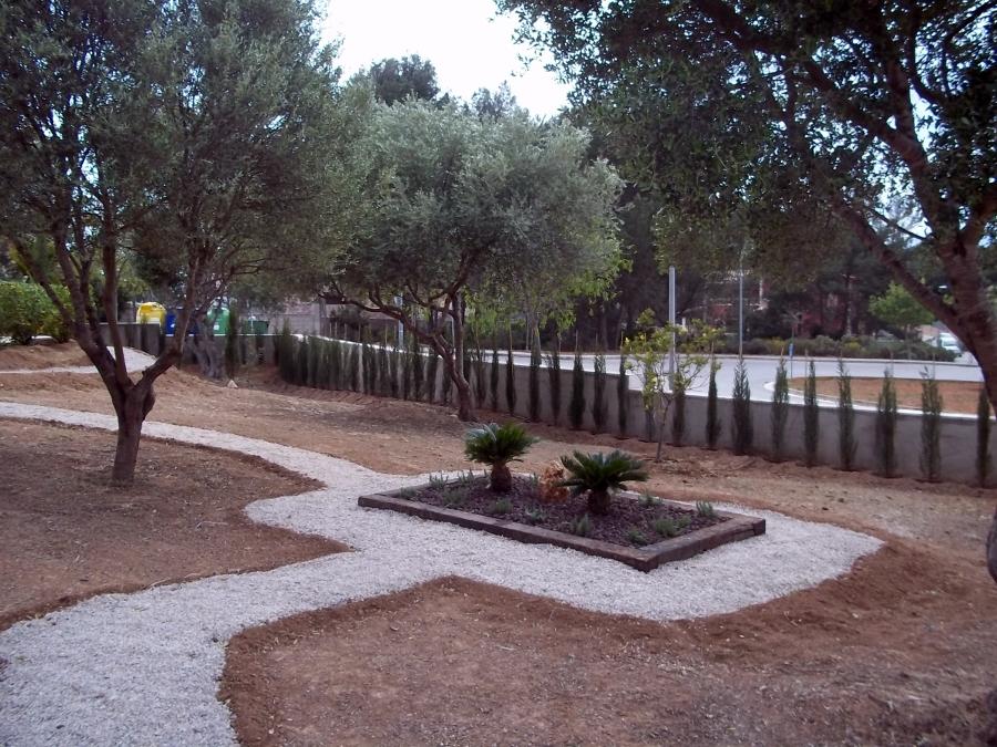 Zen Decoracion Albacete ~ Dise?o y contrucci?n en son mar?al de jardinera con 2 cyccas