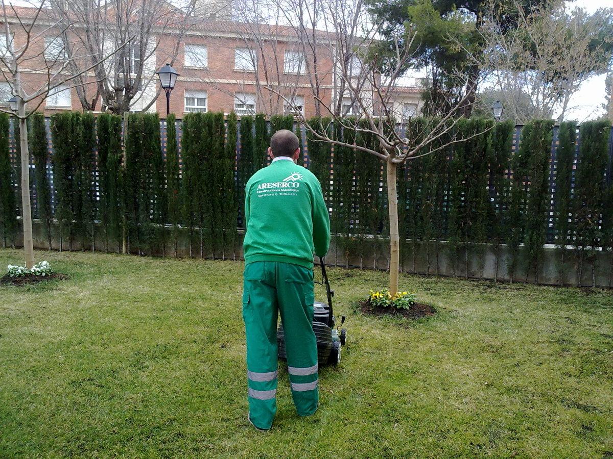 Jardinerias en Urb. Santos desamparados (Albacete)