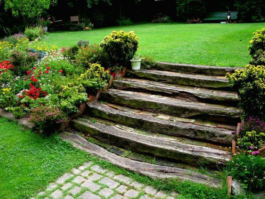 Jardines baratos y bonitos hostal jardin mahahual mxico - Jardines economicos ...