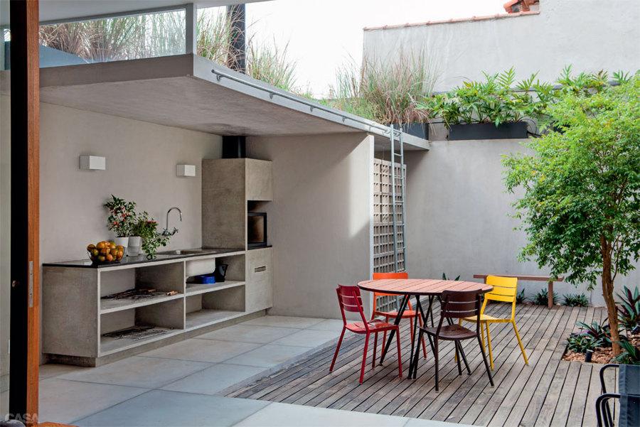 Foto barbacoa cemento de rox comunicaci n 846790 - Barbacoas para terraza ...