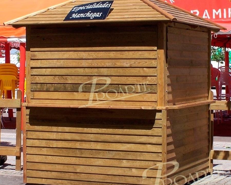 Proarte dise o fabricaci n e instalaci n de p rgolas de for Kioscos de madera baratos