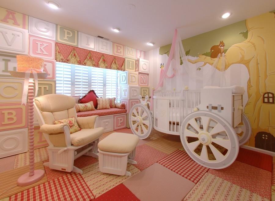 cama carruaje beb
