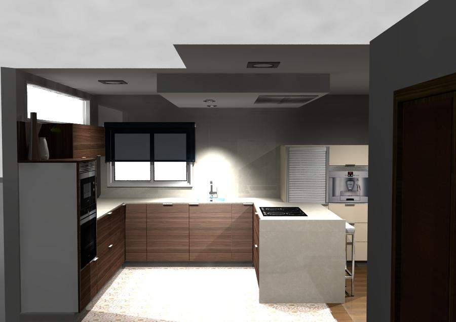 La cocina desde dentro.