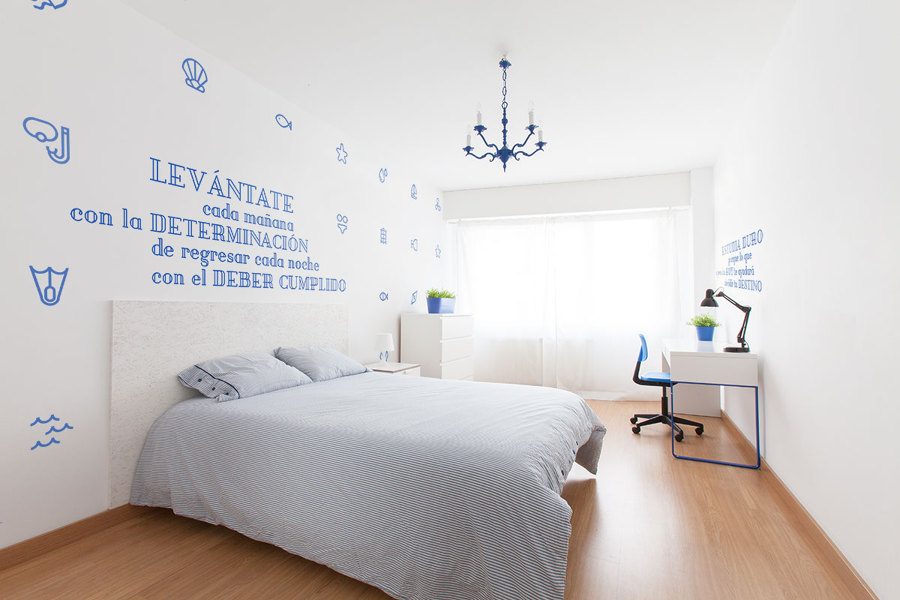 La habitación azul