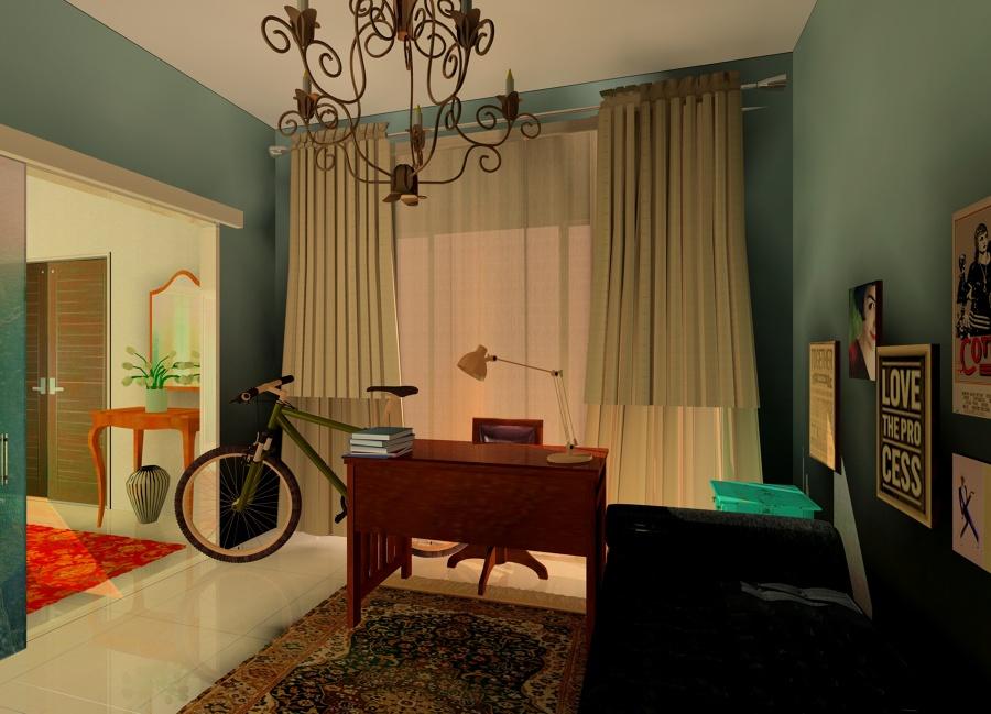 La habitación hipster
