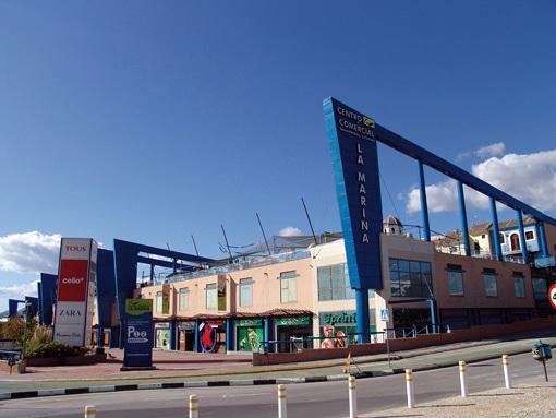 Centro Comercial La Marina Finestrat Ideas Rehabilitación Fachadas