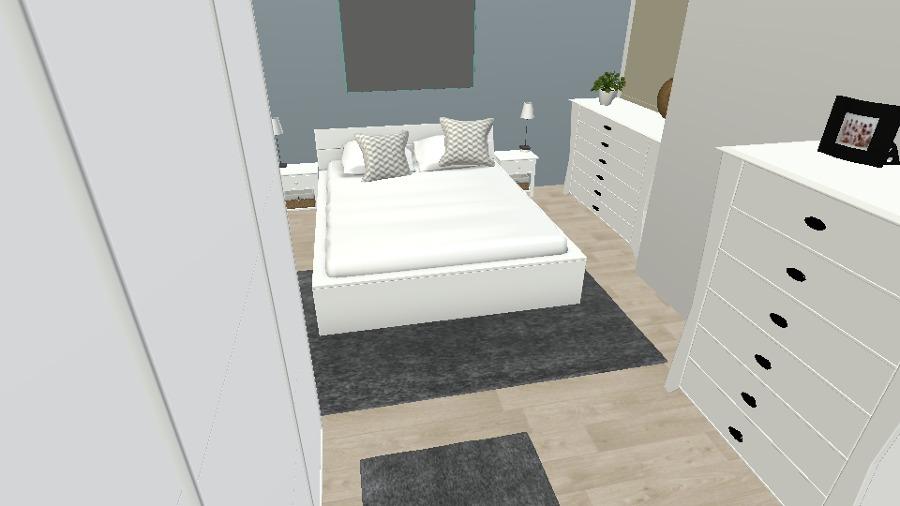 La nueva habitación principal
