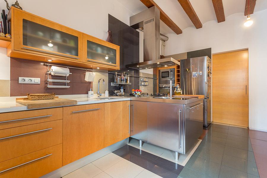 foto la separaci n entre cocina y comedor de xavi