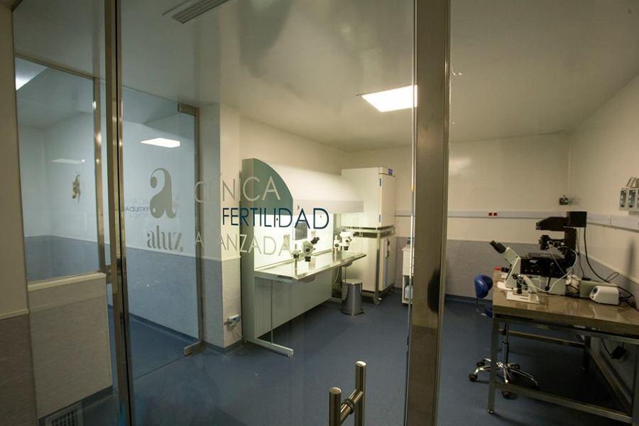 Laboratorio de fecundacion in vitro.