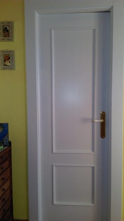 Lacado de puerta