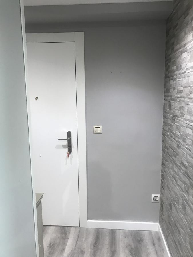 Lacado de puerta de acceso, pintura