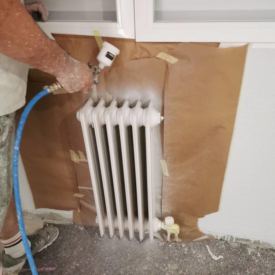 Lacado de radiadores