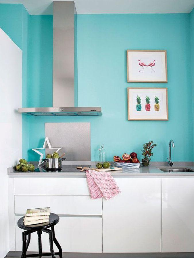 Láminas en la cocina