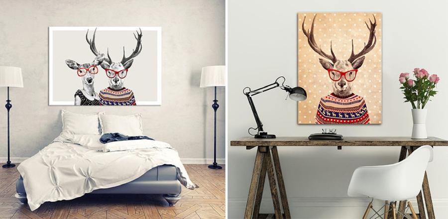 Las claves que necesitas para tener una casa hipster for Laminas de decoracion