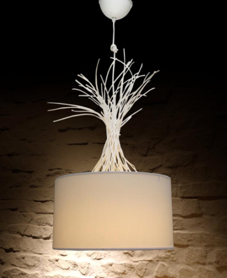 L mparas originales un toque diferente para tu casa for Lamparas salon diseno