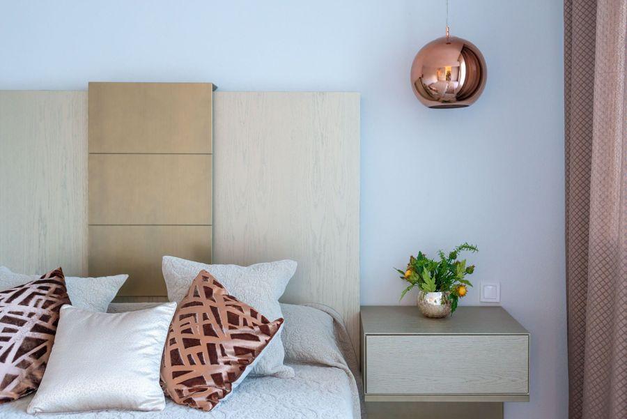 Lámpara de cobre
