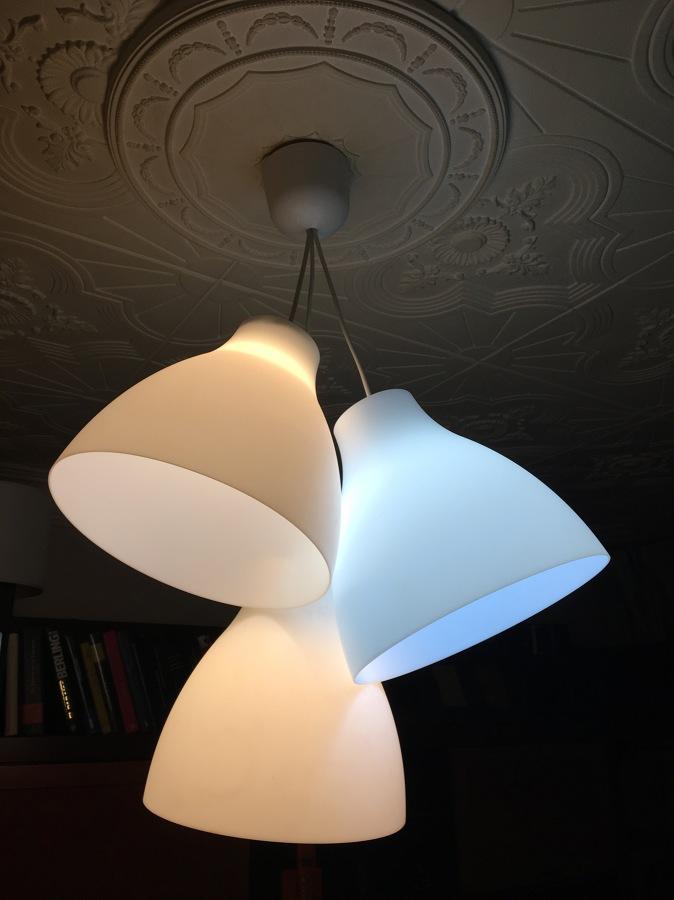 lampara de fabricación propia