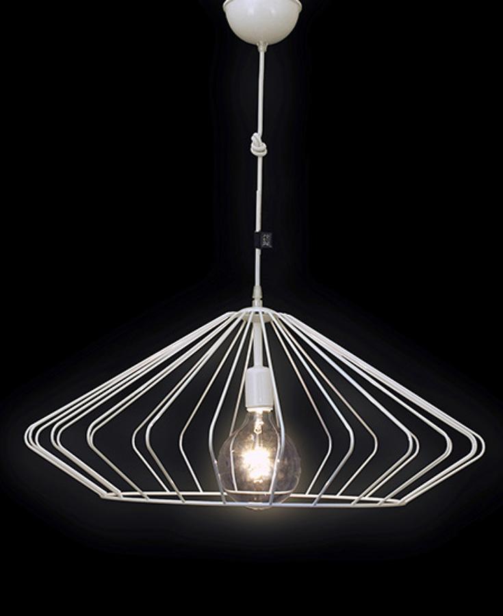 Foto l mpara minimalista de techo 871845 habitissimo for Lampara de piso minimalista