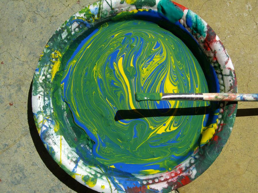 C mo mezclar los colores para pintar ideas reformas - Mezclar colores para pintar paredes ...