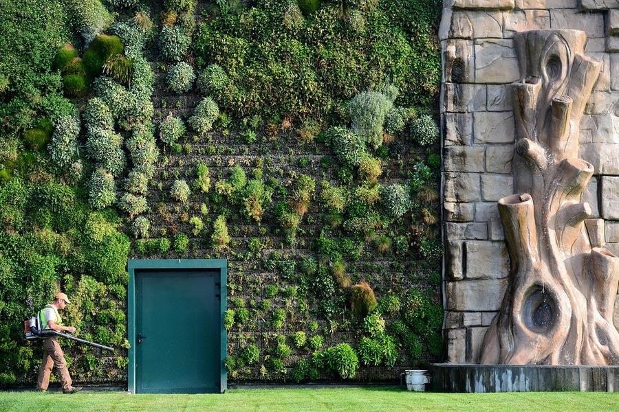 fachada jardín vertical