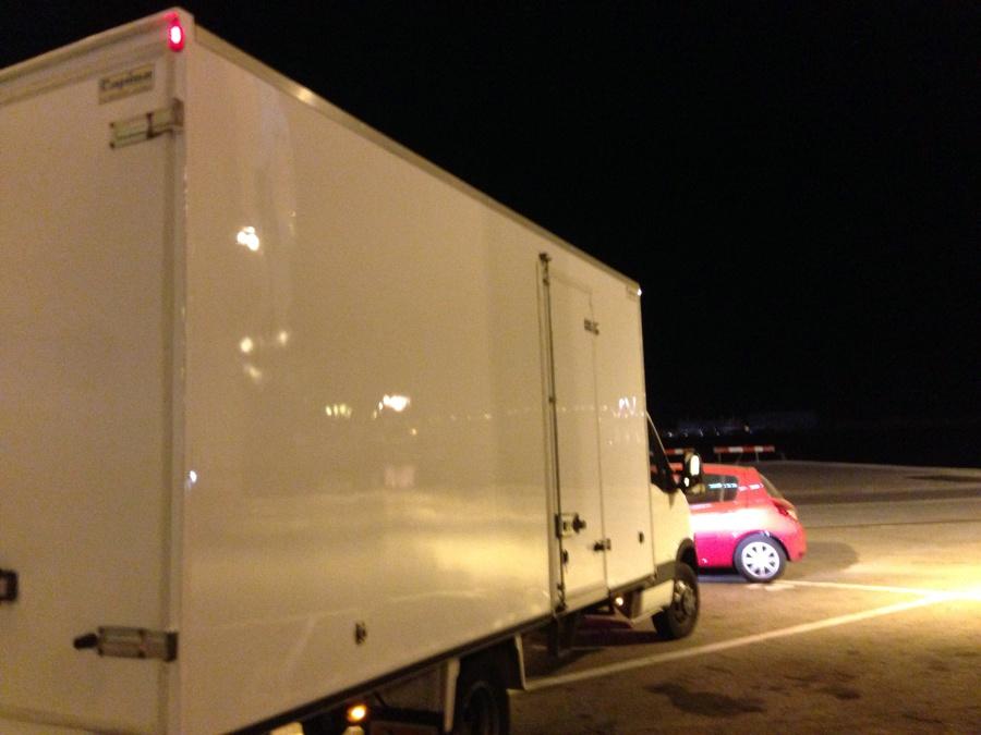 Lateral de mi camión