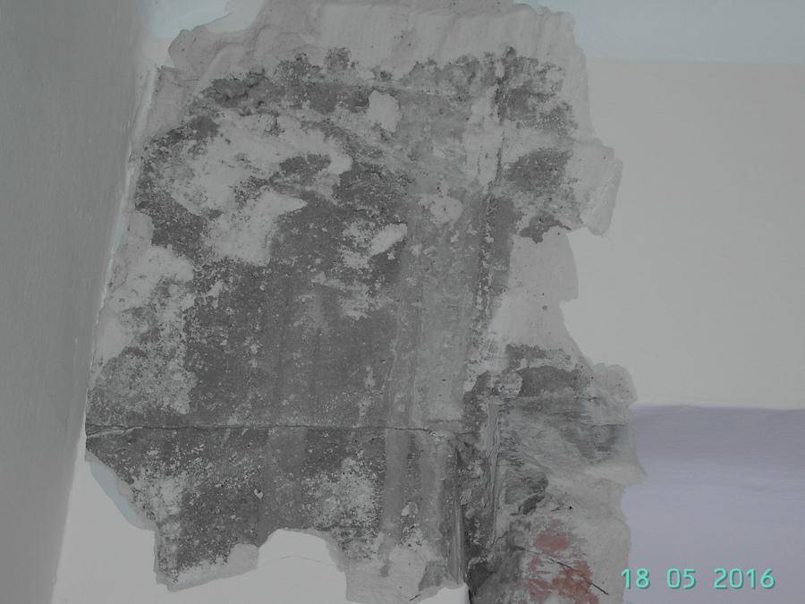 Lesión por cortante en pilar