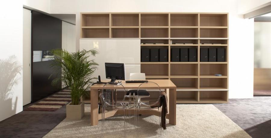 Libreria combinada, se puede fabricar a medida y cualquier acabado