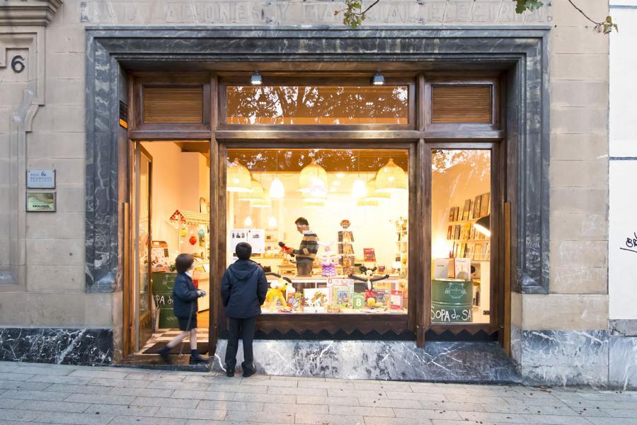 Librería Sopa de Sapo - Exterior