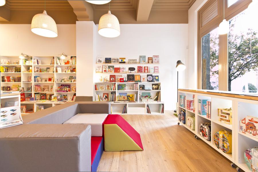 Librería Sopa de Sapo - Interior