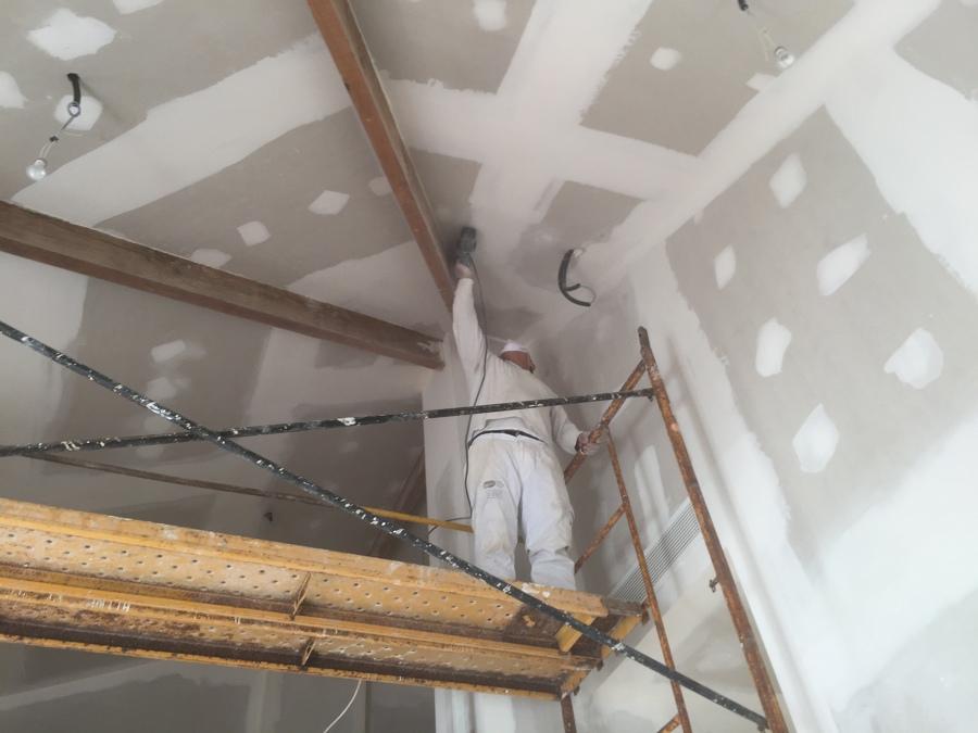 Lijado de techo 2