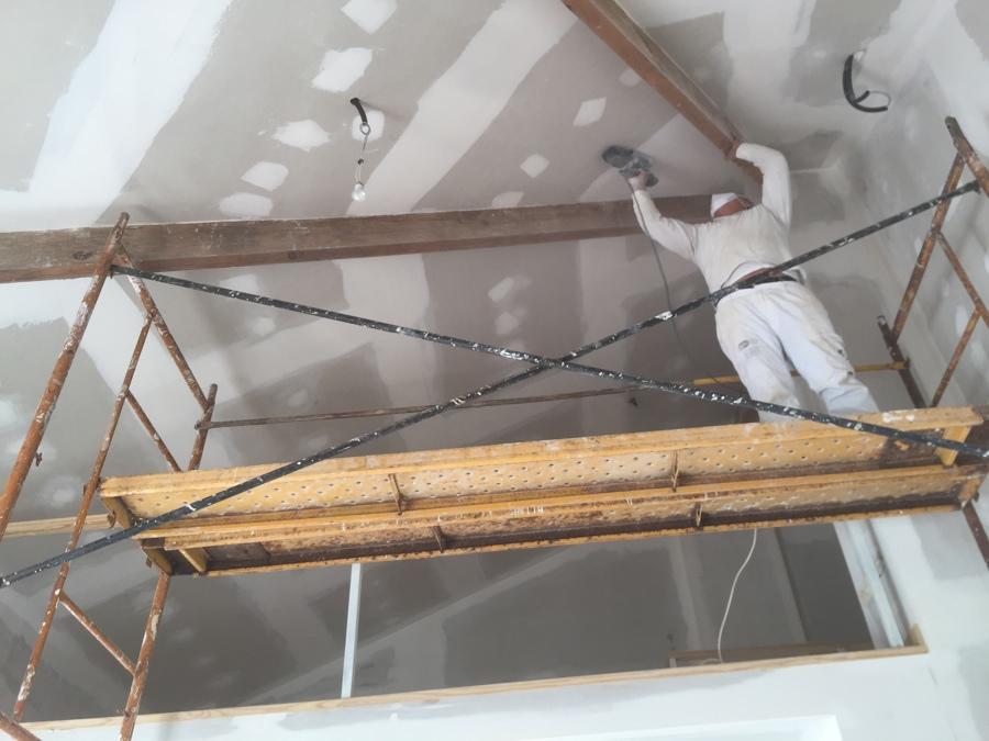 Lijado de techo