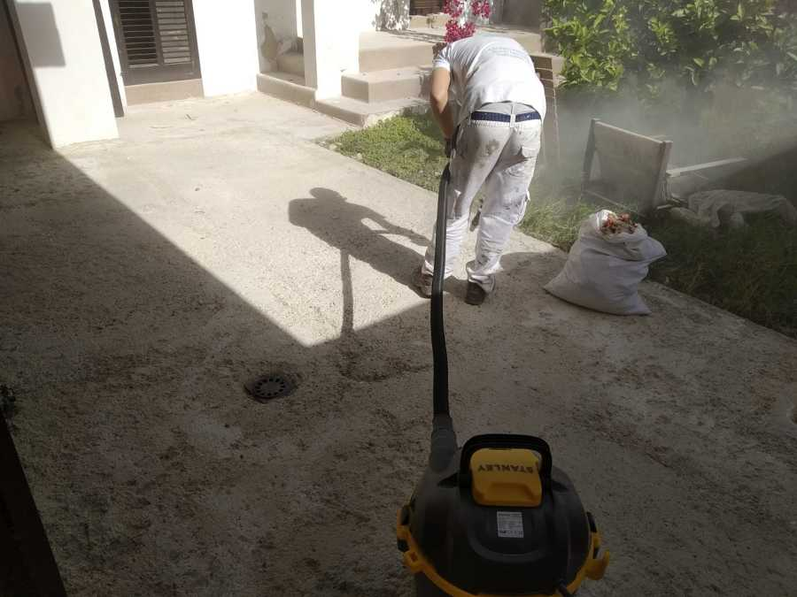limpiado de suelo