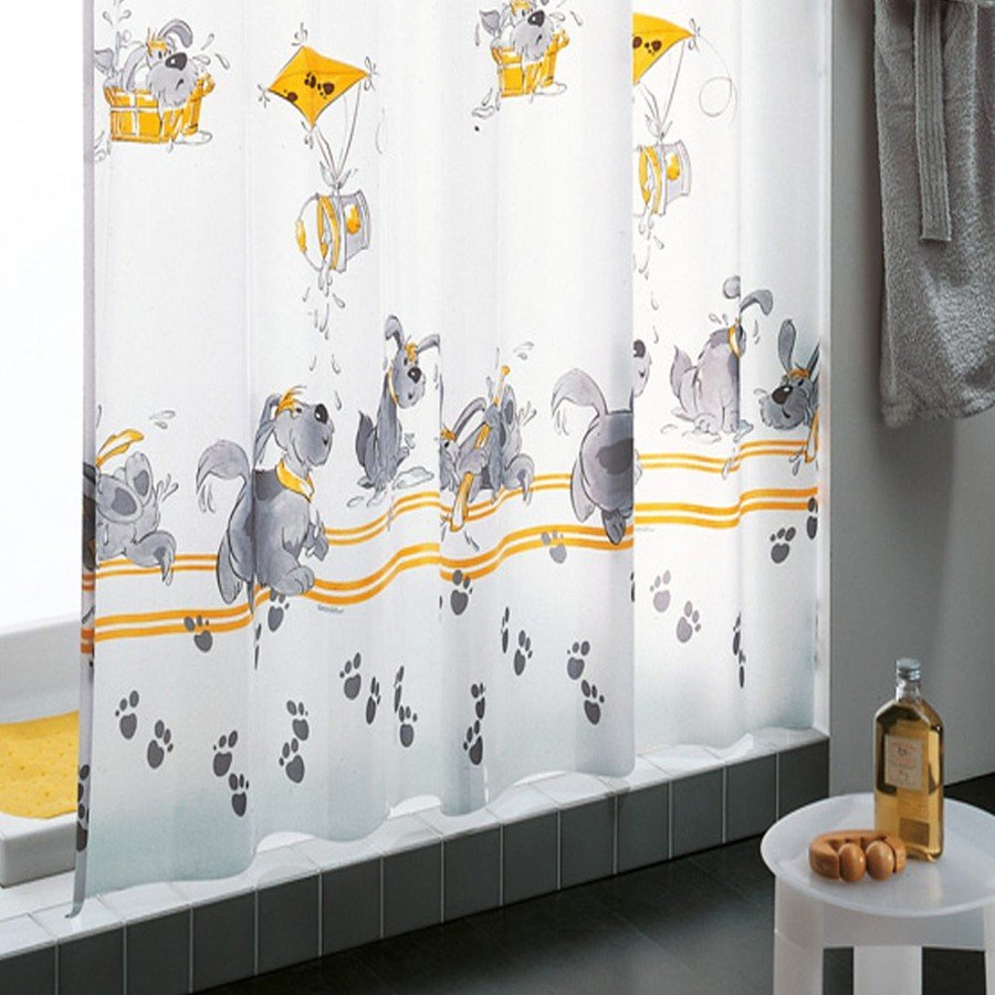 C mo limpiar la cortina del ba o ideas limpieza for Enganches cortinas