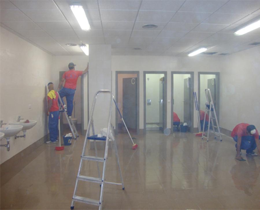 Imagenes De Limpieza Baño:Nos llamaron para realizar una limpieza integral de baños para un