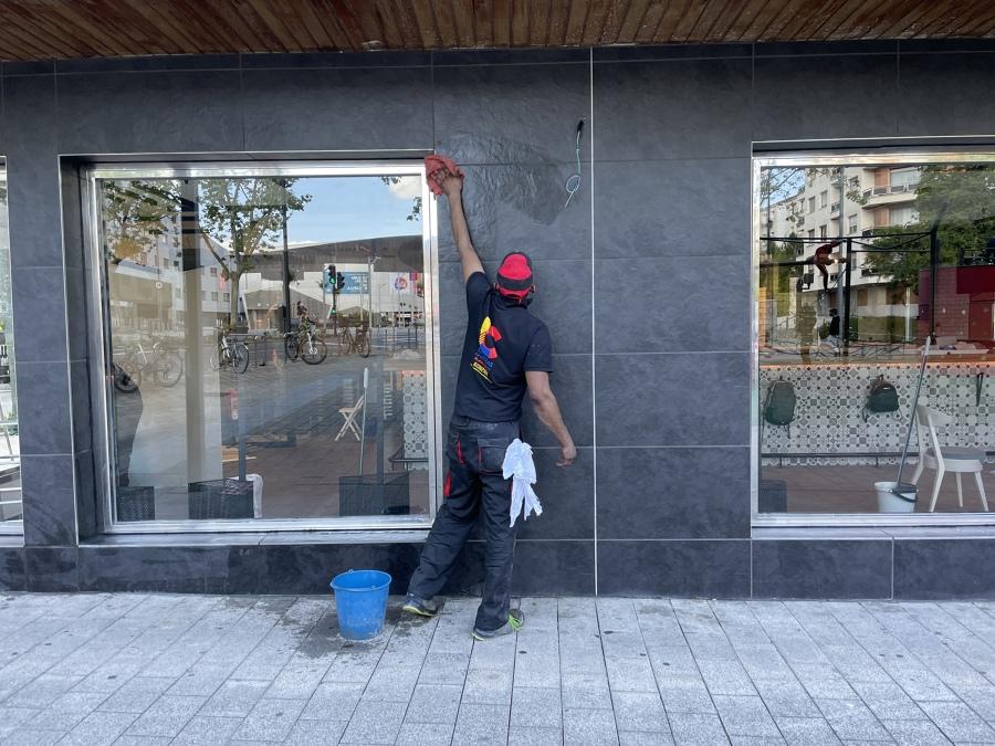 Limpieza de fachada!