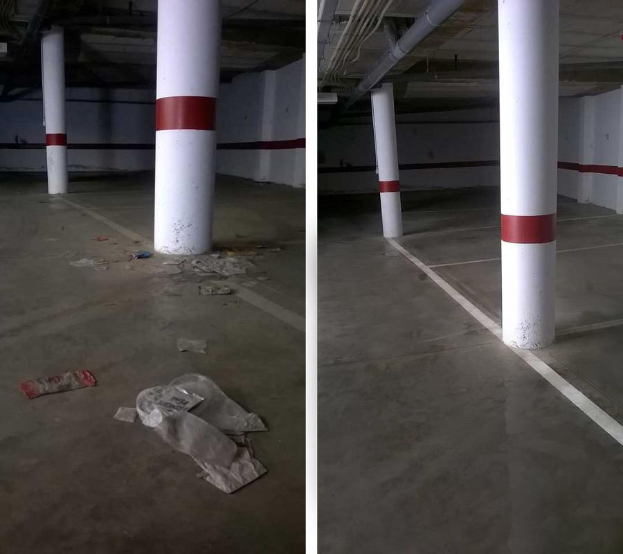 Limpieza de garajes y parkings en Sevilla