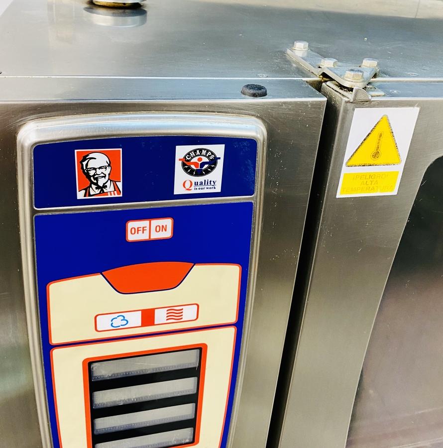Limpieza de Horno KFC Meridiana