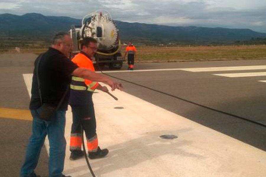 Limpieza del aeropuerto de castell n ideas fosas s pticas for Empresas de limpieza en castellon