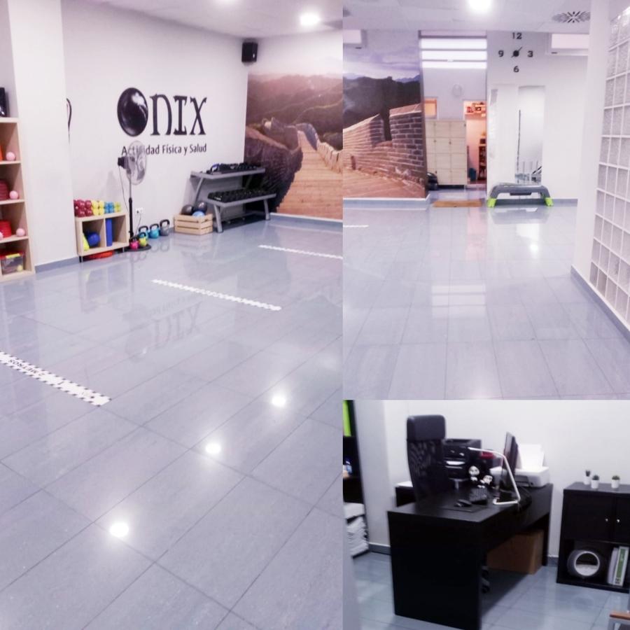 Limpieza de mantenimiento en Onix actividad física y salud