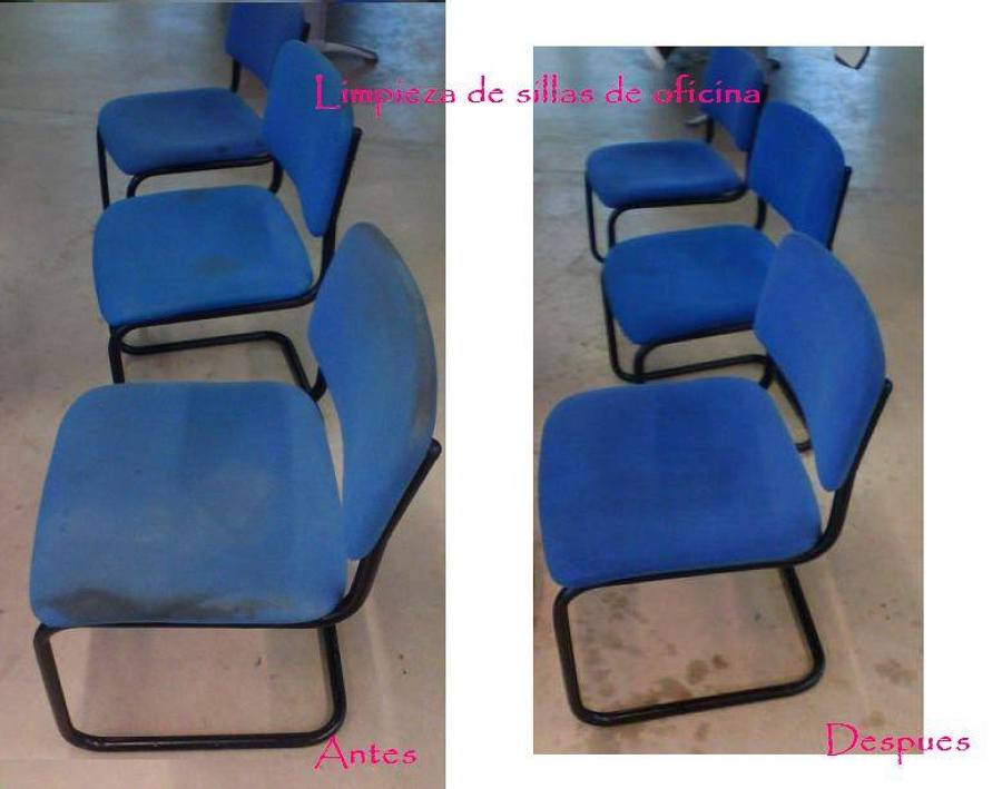 Limpieza de sillas de oficinas en local ideas limpieza for Fabrica de sillas para oficina